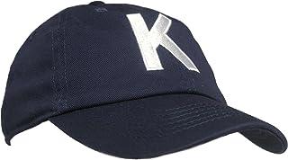 Tiny Expressions - Monogrammed Toddler & Kids Baseball Cap | Adjustable Navy Hat