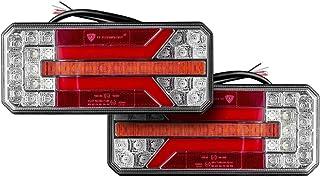 Multifunctioneel LED - achterlicht met dynamisch richtingaanwijzer set 12555