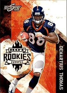 2010 Score Hot Rookies #19 Demaryius Thomas - Football Card