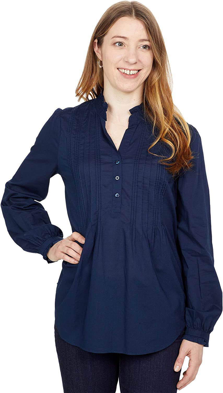 NYDJ Pleated Front Tunic