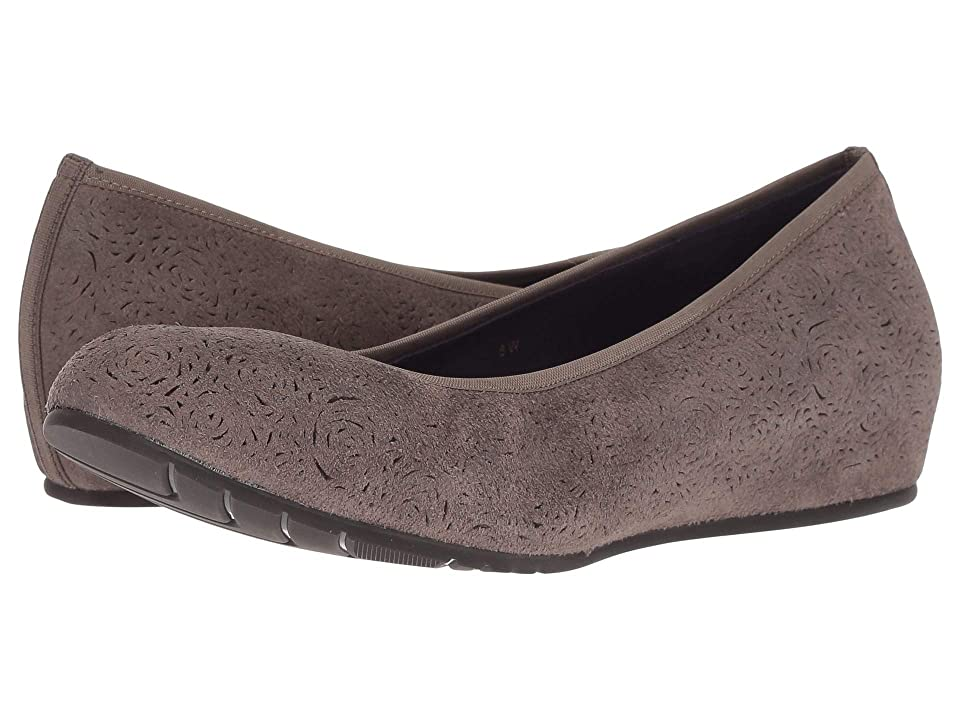 Vaneli Pamie (Taupe Rory Suede) Women