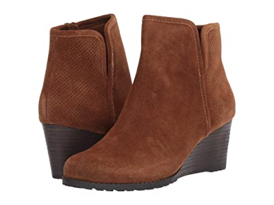 Rockport Hollis Vcut Bootie (Tan) Women
