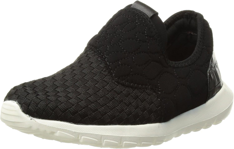 Bernie Mev Unisex-Kid's Runner Speed K Sneaker, Black, 28-35 M M EU Big Kid (31 US)
