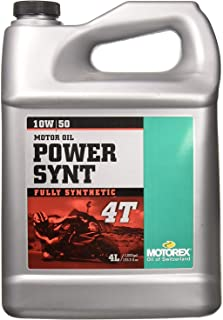 Motorex Power Synthetic 4T Oil - 10W50 - 4L. 405-400