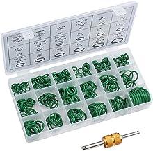 AUTOUTLET Set van 270 afdichtringen, 18 maten, O-ringen assortiment, rubberen afdichtingen ringen met ventielkernverwijder...