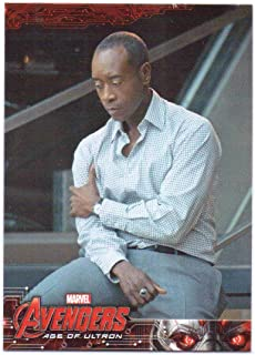 Avengers 2015 Topps Age of Ultron Avengers' Base Card #46 - Don Cheadle, Rhodey