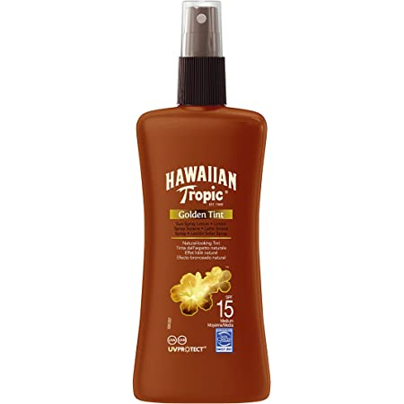 Hawaiian Tropic oro Tinte Sun spray SPF 15 200 ml
