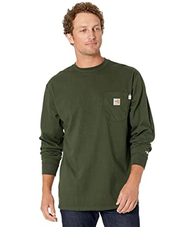 Carhartt Flame-Resistant Force(r) Cotton Long Sleeve T-Shirt