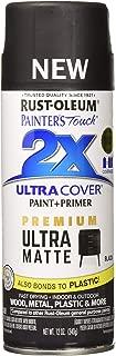 Rust-Oleum 331182 Painter's Touch 2X Spray Paint, Black