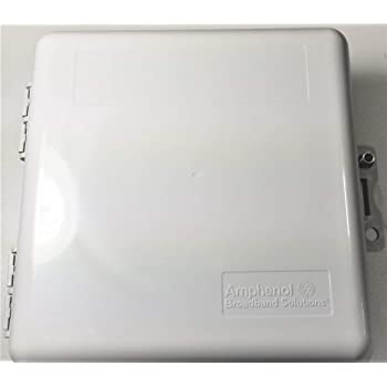Heavy Duty Weather Proof Multi Purpose Enclosure Amphenol Broadband 9 x 9 x 4 (Interior approx. 8 x 8 x 3-1/2)