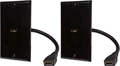 Best black hdmi wall plate Reviews
