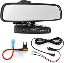 $45 Get Radar Mount Mirror Mount Bracket + Direct Wire Power Cord + Mini Fuse Tap for Whistler (3001408)
