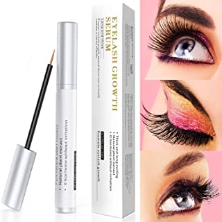 Eyelash Growth Serum 5Ml 100% Natural Material- Grow Longer Fuller Eyelashes VIOCOODA Enhancing Serum & Eye Lash And Eyebrow Growth Serum Safe For Extensions.Dermatologist Certified & Hypoallergenic