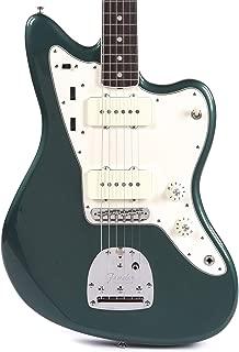 Fender American Original Jazzmaster RW Sherwood Green Metallic w/Painted Headcap & 3-Ply Parchment Pickguard (CME Exclusive)