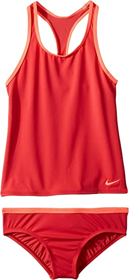 Nike Kids Solid Racerback Sport Tankini Set (Little Kids/Big Kids)