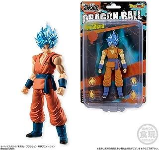 Bandai Shokugan Shodo Dragon Ball Z Super Saiyan God SS Son Goku Action Figure