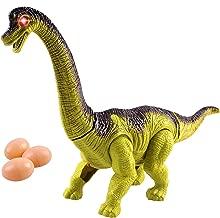 Toy Dinosaur Brachiosaurus Egg Laying Battery Walking Dinosaur Large 12