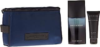 ISSEY MIYAKE Nuit D'Issey For Men, Perfume 125 ml + Shower Gel 75 ml + Toiletry Bag