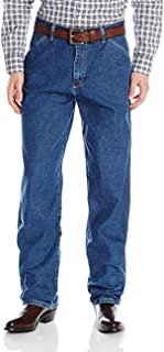 Men's Genuine Carpenter Fit Jean (34X29, Dark Wash)