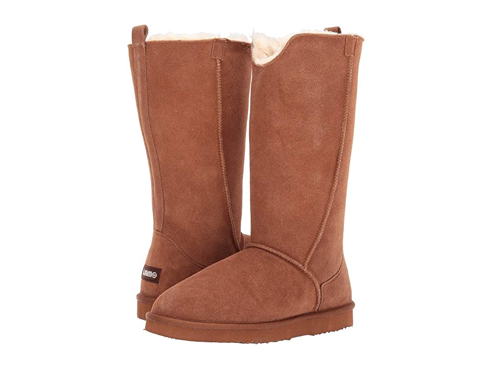 Lamo Bellona Tall (Chestnut) Women