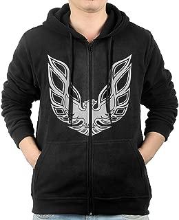 Men Pontiac Firebird Logo GTA Trans Am Retro Hooded Sweatshirt Black