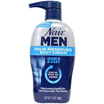 Amazon Com Nair Hair Remover Men Body Cream 368 Ml Pump By Nair