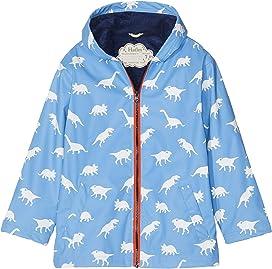 5b140c302dd Hatley Kids Yellow with Navy Stripe Lining Splash Jacket (Toddler ...
