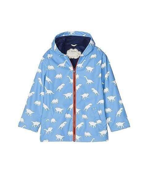 b9e206e2c Hatley Kids Color Changing Silhouette Dinos Splash Jacket (Toddler ...