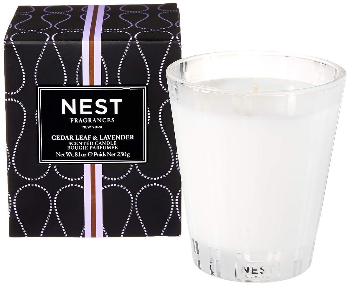 真珠のようなウイルスアルファベットネスト Scented Candle - Cedar Leaf & Lavender 230g/8.1oz並行輸入品