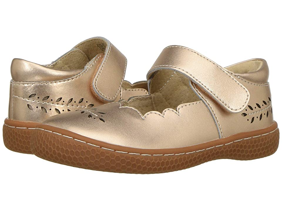 Livie & Luca Juniper (Toddler/Little Kid) (Rose Gold Metallic) Girl