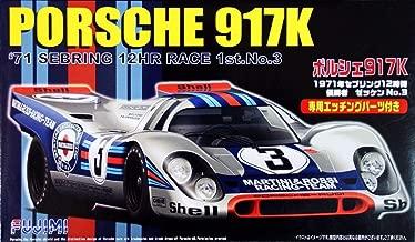 1/24 Scale Porsche 917K 71' Sebring 12-Hour Race 1st No. 3 Construction Kit by Fujimi