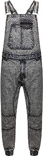 True Face Mens Denim Dungarees Overalls Bib Trousers Work Top Bottoms