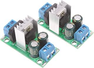 NOYITO Three-Terminal Regulator Power Supply Module 1.5A LM7805 5V LM7809 9V LM7812 12V LM7815 15V Regulator Module 3A Rec...