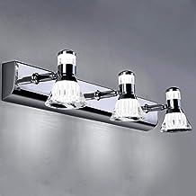 YXZQ Badkamer wandlampen 20W moderne LED badkamerspiegellamp make-up spiegel frontverlichting IP45 waterdicht badkamer via...