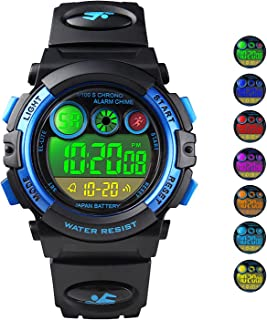 Kids Digital Sport Watch Outdoor Waterproof Watch with Alarm for Child Boy Girls Gift LED Kids Watch
