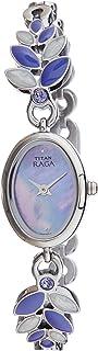 ساعة تايتن راغا انالوج لؤلؤية للنساء - 2511SM03