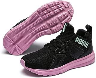 PUMA Unisex-Kids' Enzo Trailblazer JR Sneaker, Black-Lilac Sachet