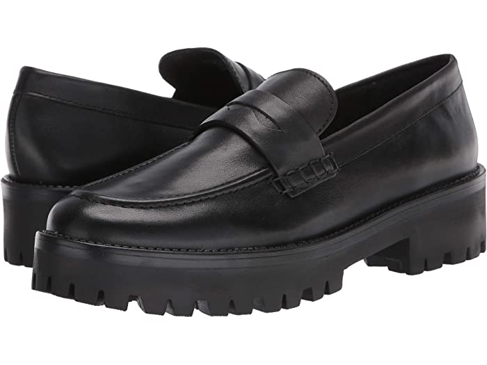 Steve Madden Women/'s Clue Mid-Top Leather Heel