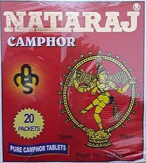 CAMPHOR BLOCKS 20 Packs herb kapur kapoor 100% GENIUNE CRYSTALS CAMPHOR TABLETS by Natraj