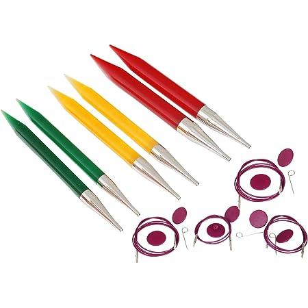 Knit Pro Trendz - Juego de Agujas de Tejer Intercambiables