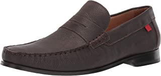 Mens Leather Made in Brazil Christopher Street Loafer Penny