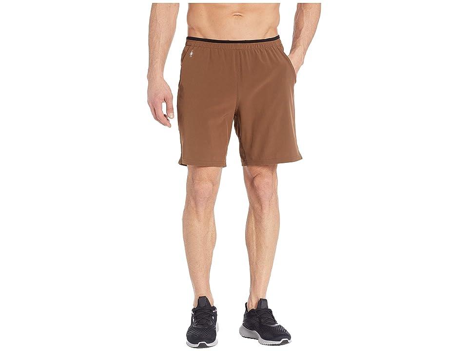 Smartwool Merino Sport Lined 8 Shorts (Bourbon) Men
