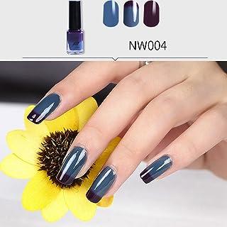 幸運な太陽 マニキュア ネイルカラー 温度によって色が変わる マニキュア ネイルオイル ネイルアート 変色ジェルネイル 塗りやすい 可愛い 6ml