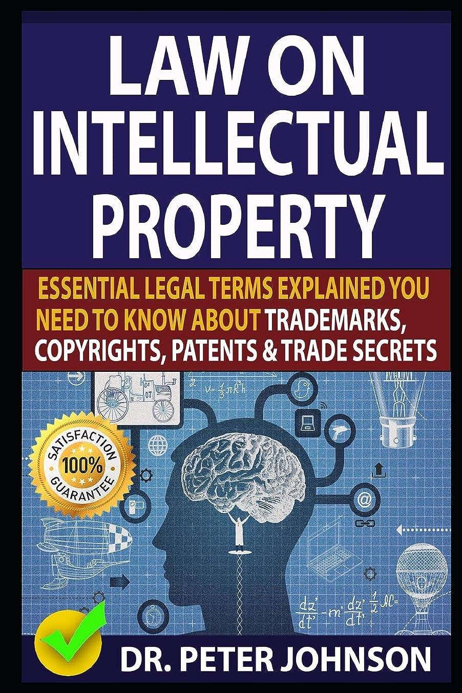 タンパク質役に立たない破滅的なLAW ON INTELLECTUAL PROPERTY: Essential Legal Terms Explained You Need To Know About Trademarks, Copyrights, Patents, and Trade Secrets!