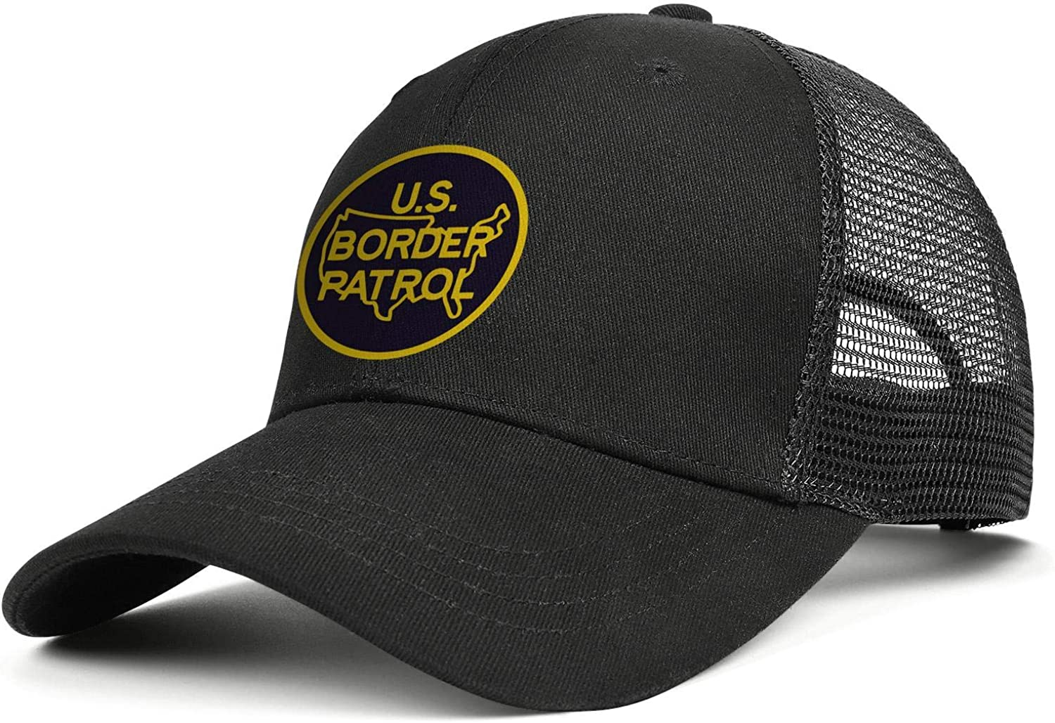 Rkouquhuaqi Us Border Patrol State Map Ba Cotton Adjustable Limited price sale Ranking TOP18 Flag