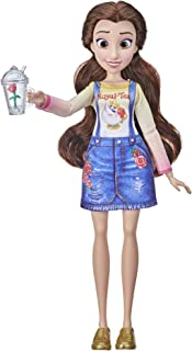 Disney Princess Comfy Squad Belle Fashion Doll, Toy Inspired by Ralph Breaks the Internet, Casual Outfit Doll, Girls 5 and Up