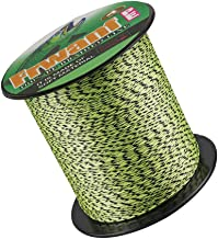 Frwanf Braided Fishing Line 4 Strands Super Strong PE Fishing String ExtremePower Fishing Braid Line for Saltwater and Fre...