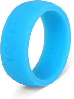 Wodbottom - Silicone Wedding Rings for Men - Perfect for Active Men, Athletes, Working Out, Fitness, Wods - Safe, Comfortable, Stylish -Hypoallergenic, Medical Grade Ring