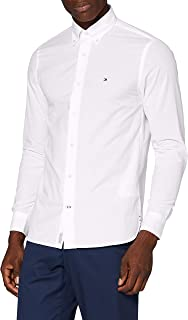 Tommy Hilfiger Peached Soft Poplin Shirt Camisa para Hombre