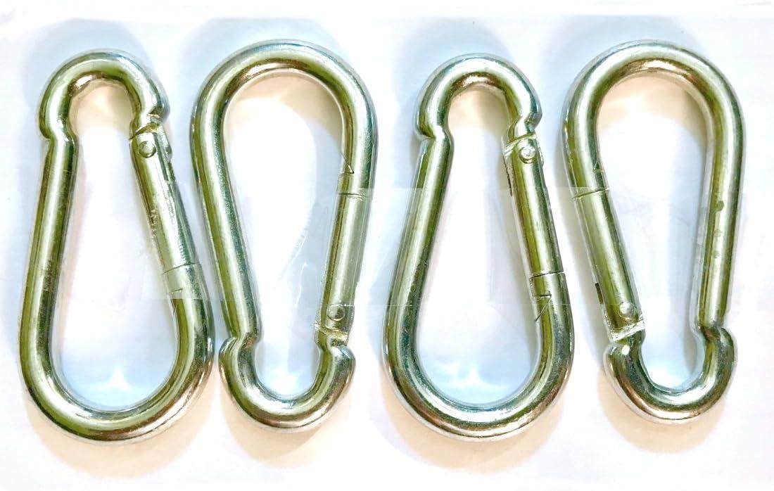SB Distribution Ltd. favorite Pack of 8 Snap Spring Eye Link All items free shipping Hook Steel